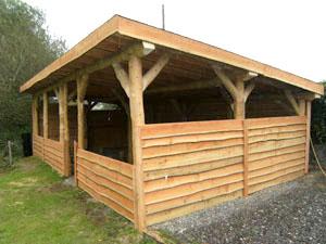 Timber sheds perthshire caravans